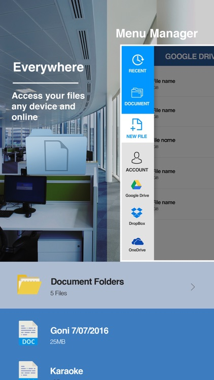 Quick Word Office - Word Processor Suite screenshot-3
