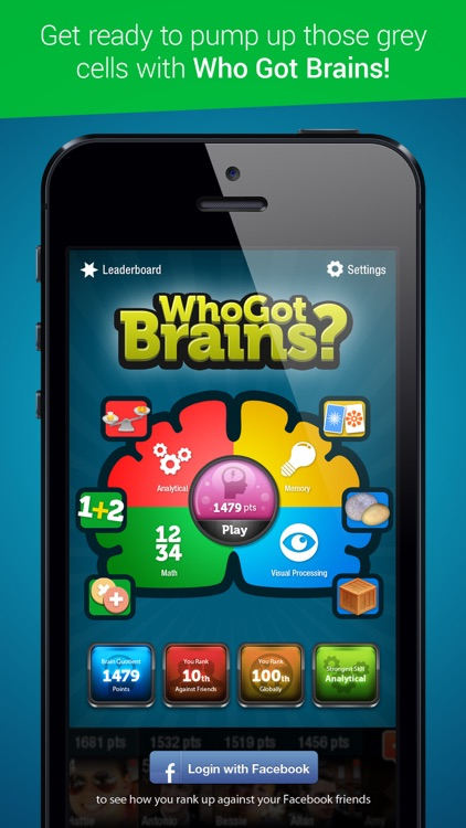 Who Got Brains - Brain Training Games - Free