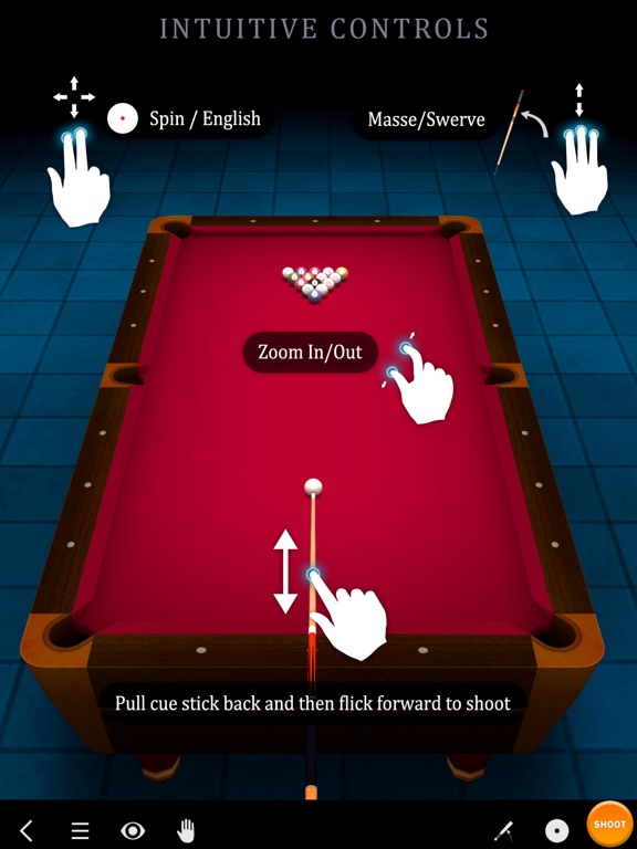 Screenshot #4 for Pool Break 3D Billiards 8 Ball, 9 Ball, Snooker