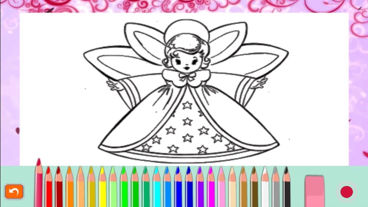 Snowman and merry christmas picture coloring book screenshot-4