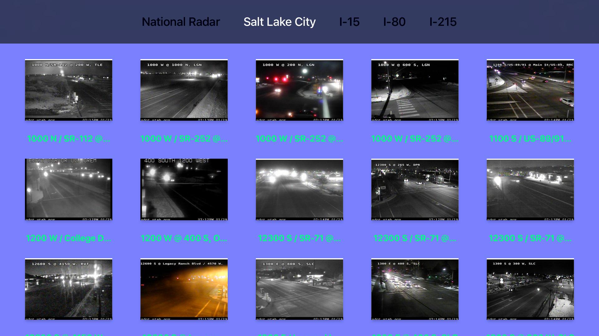 Utah NOAA Radar with Traffic Camera Pro screenshot 9