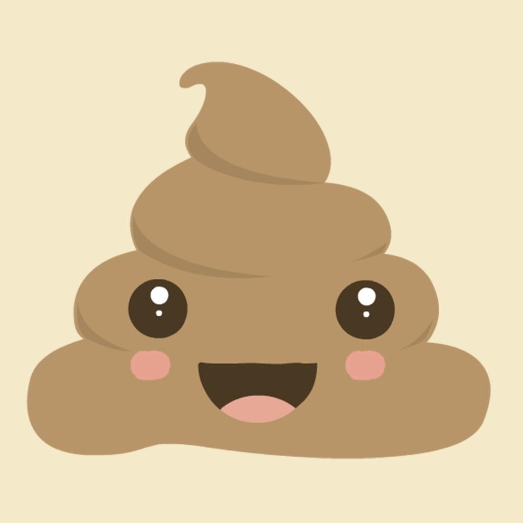 poop emoji cute kawaii animated stickers app