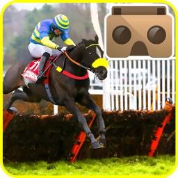 VR Wild Derby Riding - Horse Race