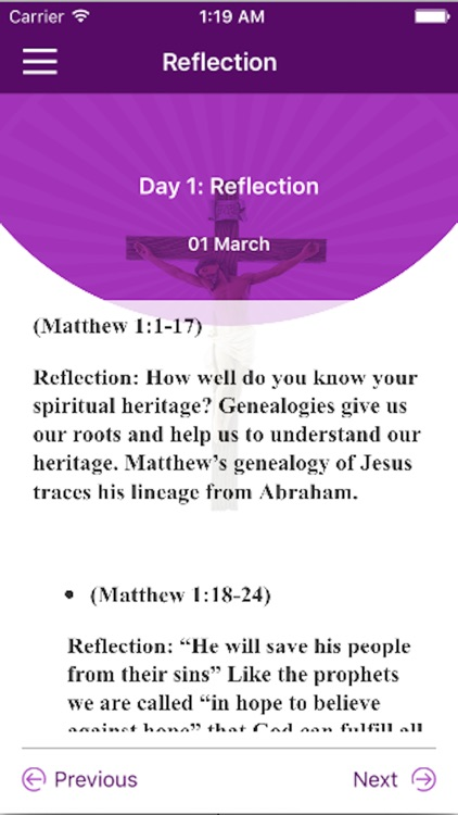 40 Days Bible Challenge screenshot-4