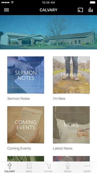 Calvary Baptist Church BC, MI screenshot 1