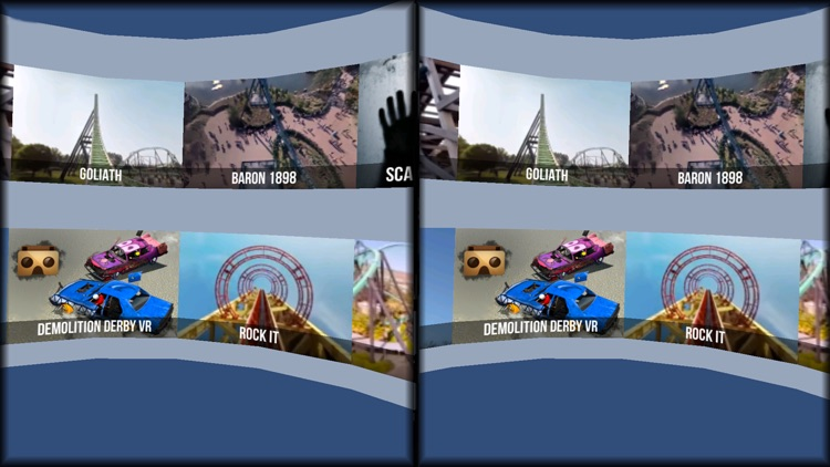 VR Thrills: Roller Coaster 360 (Google Cardboard) screenshot-3