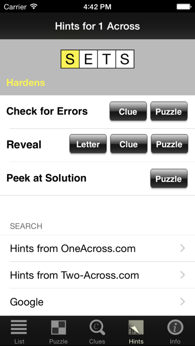 Crossword Light screenshot four