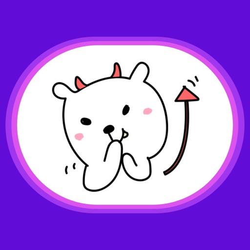 BearMoji. Stickers by Design111