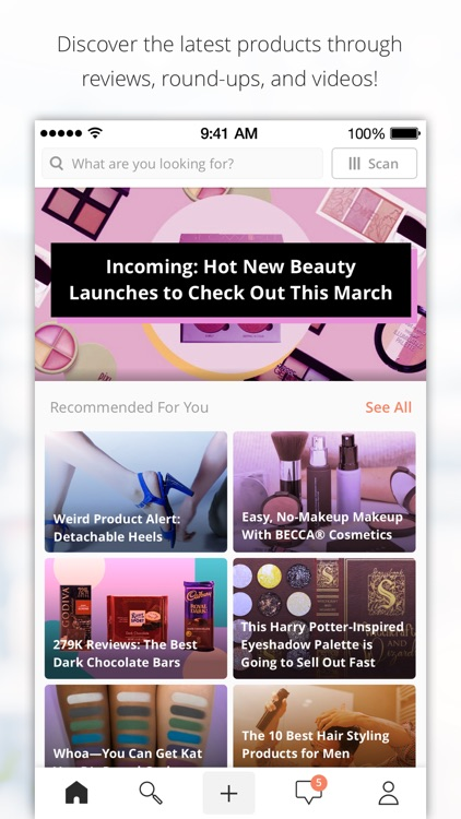 Influenster: Reviews & Deals screenshot-0
