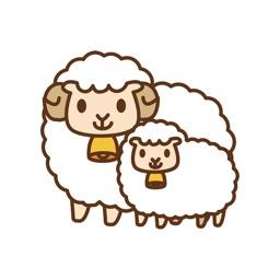 Ranch sticker cute animals