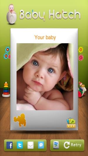 Das Gesicht Ihres Zukünftigen Babysschwanger Im App Store