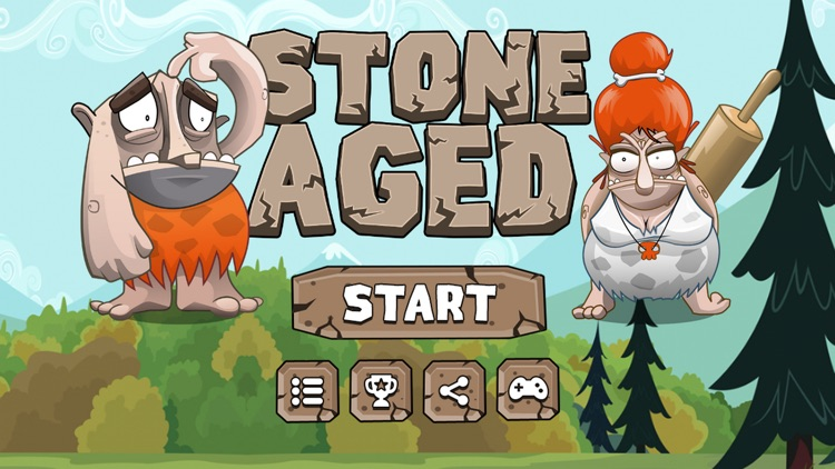 Stone Aged Runner - Stone Age Game