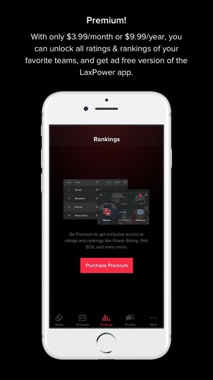 LaxPower app image