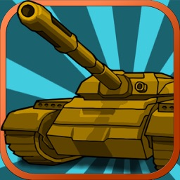 Pocket Tank Hero Lite : Bomb army in this battle