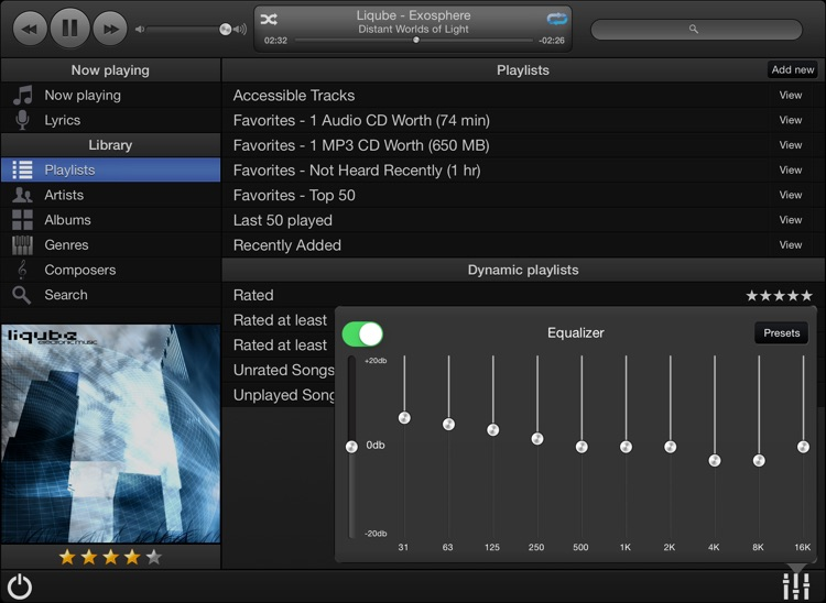 MonkeyMote Music Remote HD screenshot-2