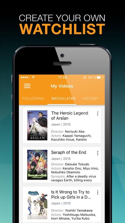 Viewster - Anime, Gaming & Fandom TV screenshot-4
