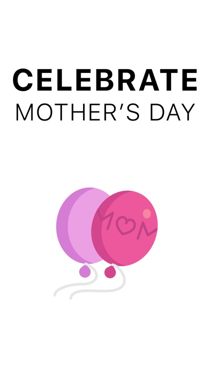 Mommoji - Mother's Day Stickers app image