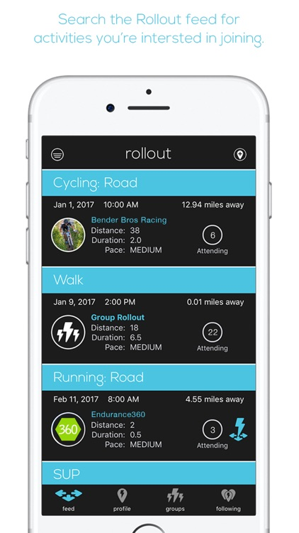 Rollout - Connect for Adventure Sports