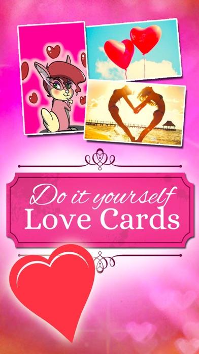 Love Greetings - I LOVE YOU GREETING CARDS Creator screenshot 1