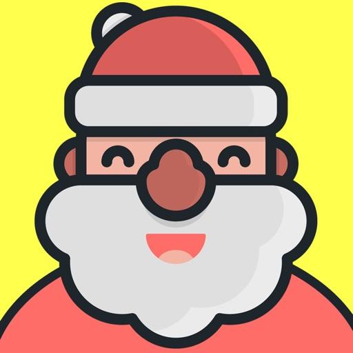Santa Emojis - Christmas Emoji Stickers Messenger
