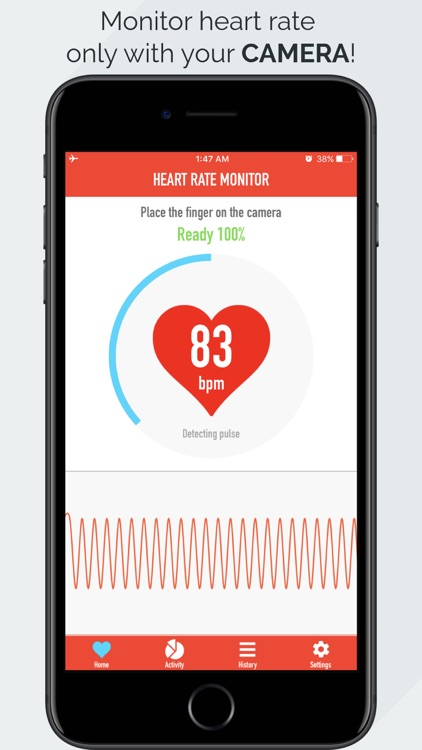 Heart Rate Monitor - Pulse App Tracker