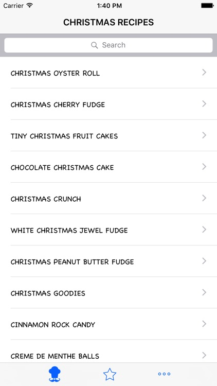 Christmas Recipe screenshot-2