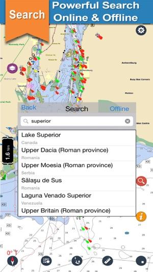 US Great Lakes Nautical Charts