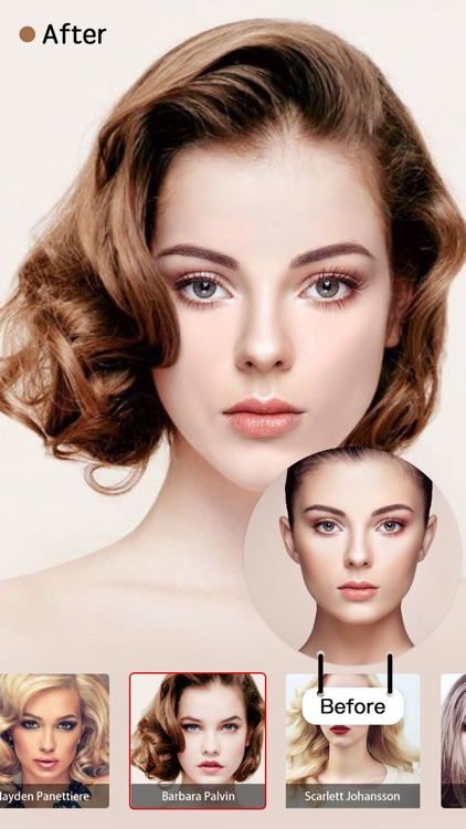 Pop Star Hair Salon:Swap Face&Hairstyle with Stars screenshot-4