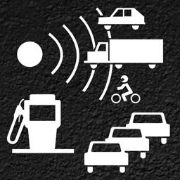 Skip Traffic!, gas price and speed cam warner