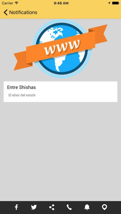 ENTRE SHISHAS screenshot three