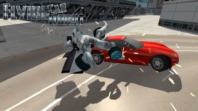 Flying Car Robot Flight Drive Simulator Game 2017 On The App Store
