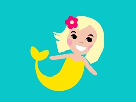 The Cinderly Mermaid Sticker Pack is the ultimate in 21st expression