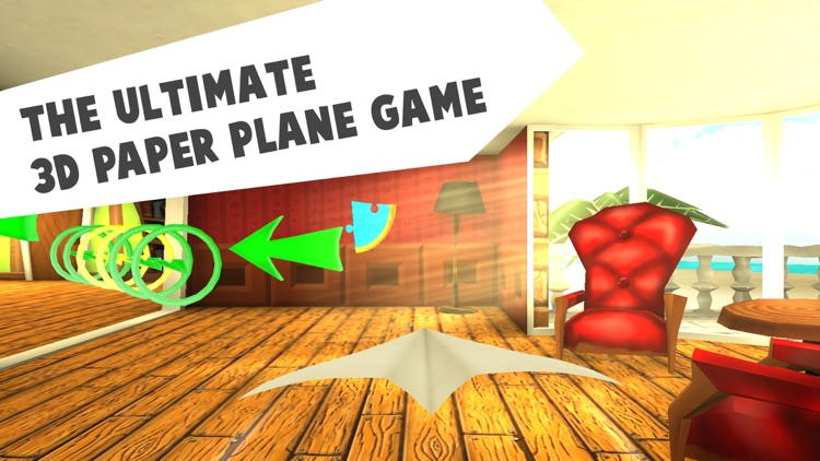 Folded Flyer - Paper Plane Flying Game