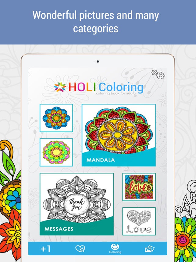 Anti Stress Coloring Book Calm On The App Store