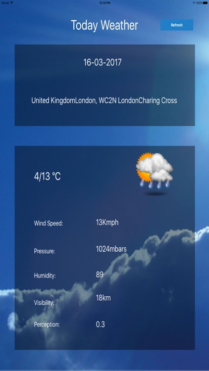 Today's Weather screenshot-3