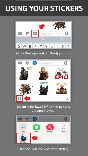 How to train your dragon stickers on the app store how to train your dragon stickers on the app store ccuart Images