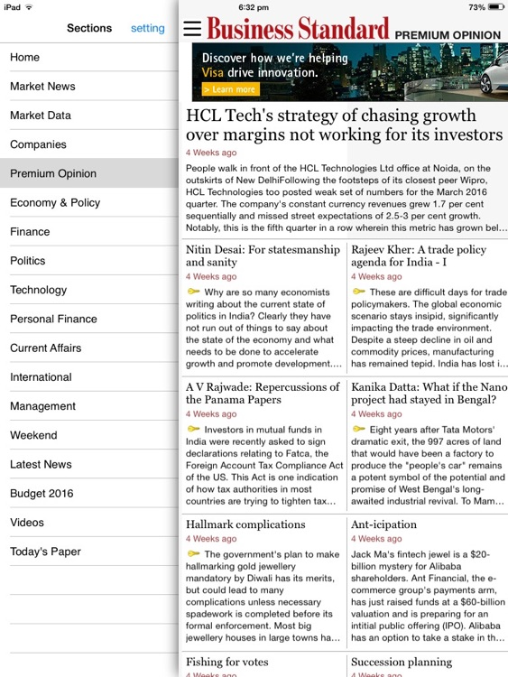 Business Standard screenshot-1
