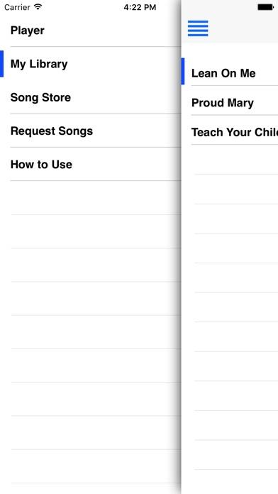 Sing Harmonies iPhone