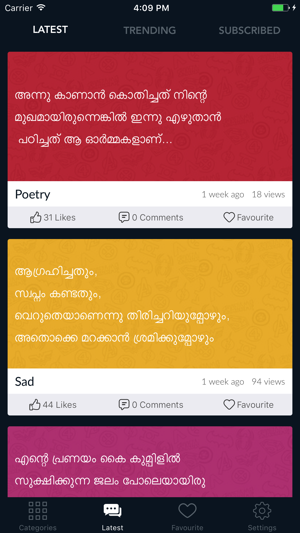 Malayalam Status on the App Store