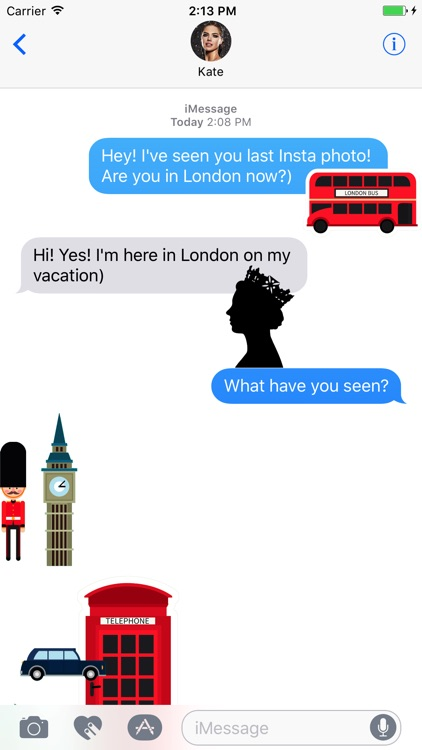 London Stickers Pack