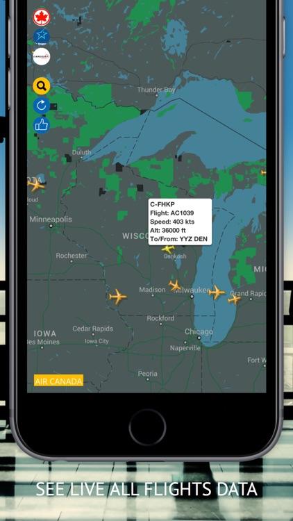 Air CA Free: Flight Radar & Status
