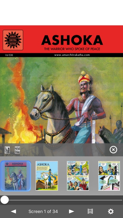 Great Rulers Of India Digest - Amar Chitra Katha