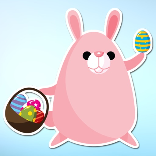 Easter Eggs and Animal Sticker Pack