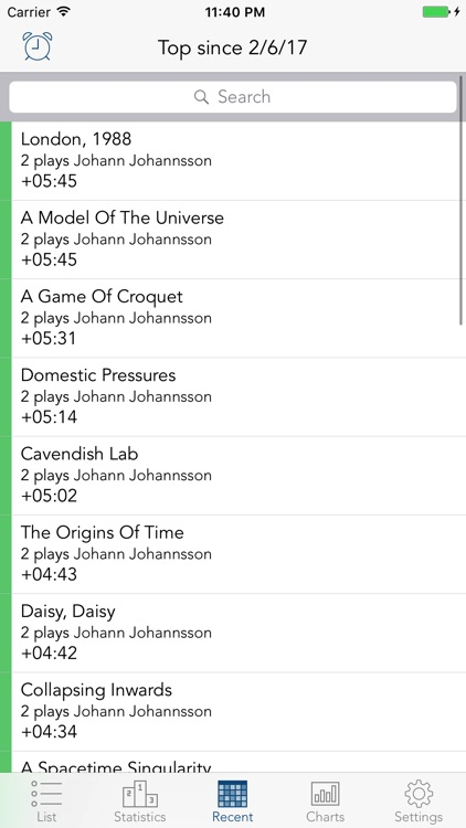 Play Time - statistics for your music screenshot-3