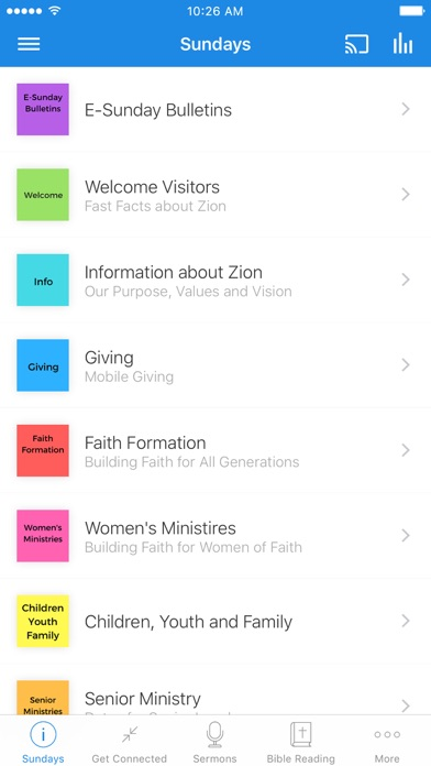 Zion Lutheran Church-Ann Arbor screenshot 1