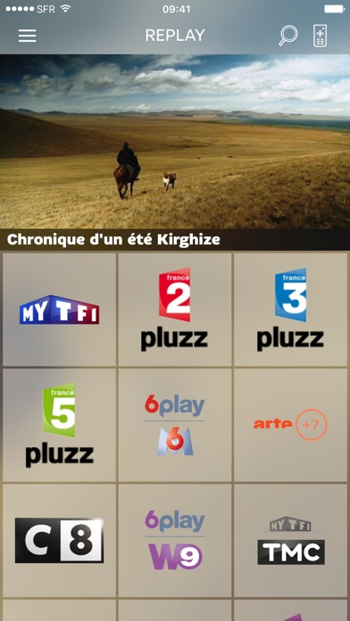 download SFR TV apps 3