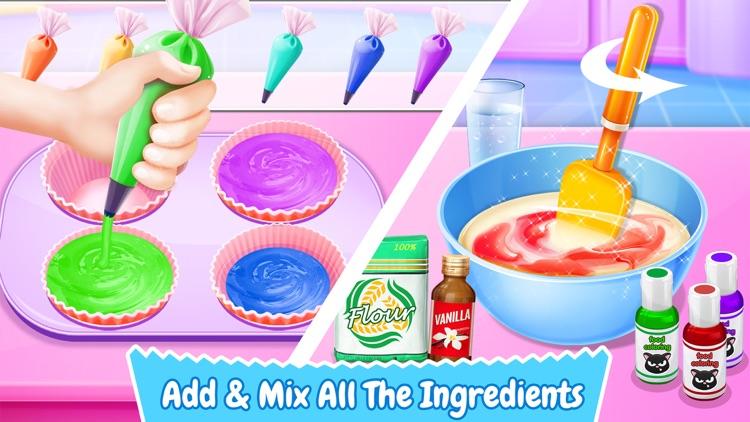 Cupcake Maker! Sweet Food Cooking Dessert Games