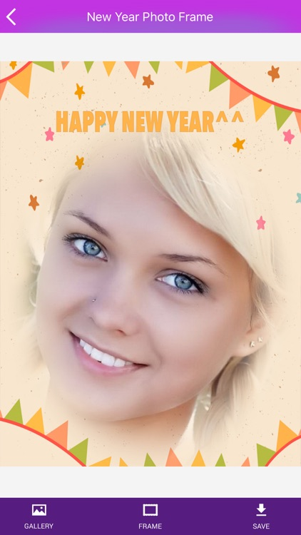 Happy New Year Photo Frame 2017 HD screenshot-4