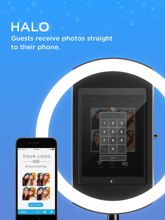 Simple booth halo on the app store solutioingenieria Images