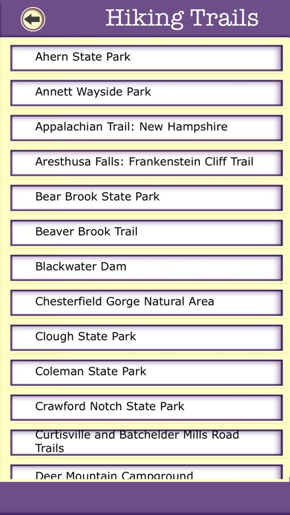 New Hampshire Campgrounds And Hiking Trails screenshot-3